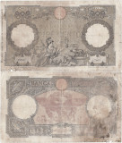 1942 (11 VI), 100 lire (P-55b.20) - Italia! (CRC: 75%) Fascio!