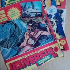 Universul copiilor nr 9-10,27-28,33-34 anul 1992 LOT 3 REVISTE