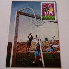 Foto fotbal - carte postala
