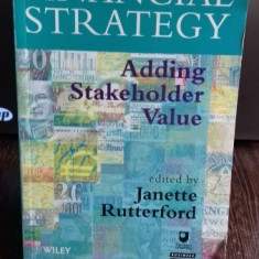 FINANCIAL STRATEGY - JANETTE RUTTERFORD (STRATEGIE FINANCIALA)