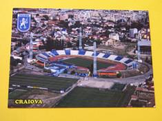 "Foto-carte postala Stadionul de fotbal ""OBLEMENCO'(UNIVERSITATEA Craiova) foto"