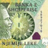 ALBANIA █ bancnota █ 1000 Leke █ 2011 █ P-73b █ UNC █ necirculata