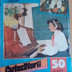 Cutezatorii nr 50 Joi,14 decembrie 1989, anul XXIII ( nr 1157)