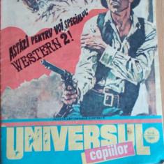 Universul copiilor nr 1-2,15-16,25-26, anul 1991 LOT 3 REVISTE