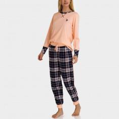 Pijamale US POLO ASSN - Compleu Bluza, Pantaloni Dama, Femei - 100% AUTENTIC, L, Tommy Hilfiger