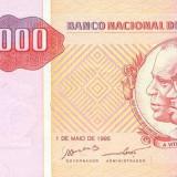 ANGOLA █ bancnota █ 10000 Kwanzas █ 1995 █ P-137 █ UNC █ necirculata