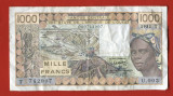Togo 1000 francs 1981 VF