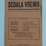 Banat, Scoala Vremii, nr. 1, 1941, Asociatia Invatatorilor, Arad