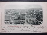 TIMISOARA - ANUL 1899 - TEMESVAR GYARVAROS II - UTANNYOMAT TILOS - CLASICA, Circulata, Fotografie