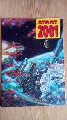 Revista Start 2001 nr 4 din anul 1993 foto