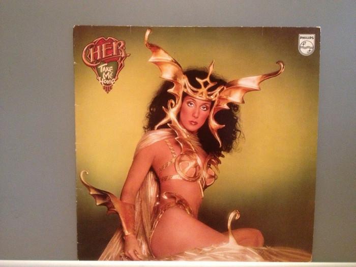 CHER - TAKE ME HOME (1979/PHILIPS/RFG) - Vinil/Impecabil/Vinyl