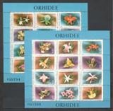 Romania.1988 Flori:Orhidee-Bl.  YR.856, Nestampilat