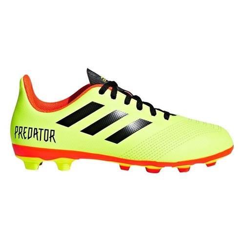 Ghete Fotbal Adidas Predator 184 Fxg J DB2321 foto mare