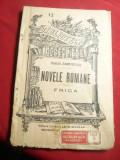 Duiliu Zamfirescu - Novele Romane- Frica - BPT nr.13 ,interbelica ,portret autor