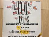 Chartbusta the megamixers uk top 20 charts vol. 1 1991 disc vinyl lp muzica pop, VINIL, electrecord