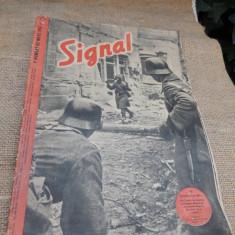 Revista Signal in limba franceza, numarul 1 din martie 1942.