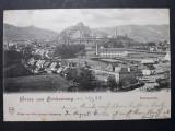 SIGHISOARA - ANUL 1899 - CLASICA - CIRCULATA SIGHISOARA - BRASOV, Fotografie
