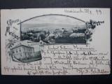 MEDIAS - ANUL 1899 - LITOGRAFIE - CLASICA - CIRCULATA MEDIAS - BRASOV, Fotografie