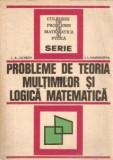 I. Lavrov - Probleme de teoria mulțimilor și logică matematică