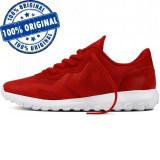 Pantofi sport Converse Thunderbolt Ultra Ox pentru barbati - adidasi originali, 41, 42, 42.5, 43, 44, Rosu, Textil