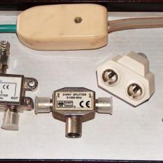 9 mufe coax RF + adaptor bifilar-coax