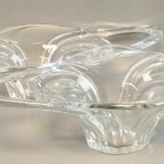 Pereche de fructiere din cristal Vannes Franta.