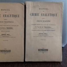 MANUEL DE CHIMIE ANALYTIQUE - MARCEL BOLL 2 VOLUME (MANUAL DE CHIMIE ANALITICA)