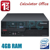 SUPER OFERTA! Calculator office / birou LENOVO E8400 4GB RAM 160GB GARANTIE 1 AN, Intel Core 2 Duo, 4 GB, 100-199 GB