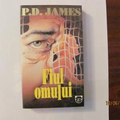 """CY - P.D. JAMES """"Fiul Omului"""""""