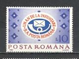Romania.1992 1 an R.A.Posta Romana   YR.929