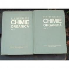 CHIMIE ORGANICA - C.D. NENITESCU 2 VOLUME