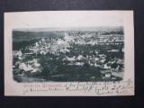 APOLDU DE SUS - GROSSPOLD ( SIBIU ) - AN 1901 - CLASICA - CIRCULATA LA BRASOV, Fotografie