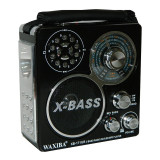 Radio Waxiba XB-171UR, 3 benzi, lanterna incorporata