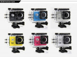 Sport Action Camera SJ4000 Subacvatica Full HD 1080p, 8MP, unghi 140°, 16