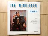 Ion minulescu versuri disc vinyl lp recita autorul f piersic o cotescu i lucian, VINIL, electrecord