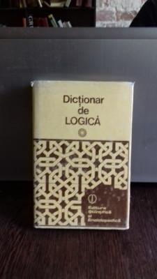 DICTIONAR DE LOGICA - GHEORGHE ENESCU foto