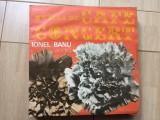 Ionel banu muzica de cafe concert disc vinyl lp muzica vioara latin world pop, VINIL, electrecord