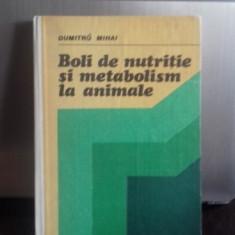 BOLI DE NUTRITIE SI METABOLISM LA ANIMALE - DUMITRU MIHAI