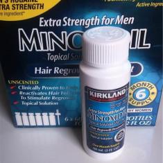 Minoxidil 5% Kirkland impotriva caderii parului Tratament 1 Luna- S.U.A.