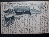 MEDIAS - ANUL 1898  - LITOGRAFIE - CLASICA - CIRCULATA MEDIAS - BRASOV, Fotografie
