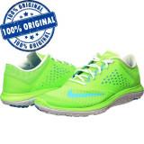Pantofi sport Nike Fs Lite Run 2 pentru femei - adidasi originali - alergare, 36, 38, Verde, Textil