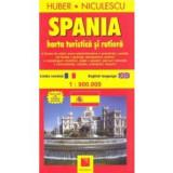 Harta turistica si rutiera Spania, niculescu