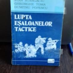 LUPTA ESALOANELOR TACTICE - STAN STANGACIU