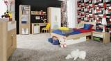 Set Mobila dormitor pentru copii 8 piese Lacio