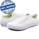 Pantofi sport Converse Chuck Taylor All Star II Ox pentru barbati - tenisi panza, 43 - 45, Alb, Textil