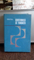 GEOTEHNICA SI FUNDATII - MAIOR NICOLAE, PAUNESCU MARIN foto