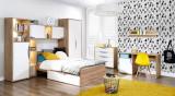 Set Mobila dormitor pentru copii 9 piese Novelle