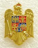 Y598 INSIGNA NOUA STEMA CU COROANA A ROMANIEI, Romania de la 1950