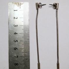 Cercei lungi din argint 925 stil lant 8,5cm