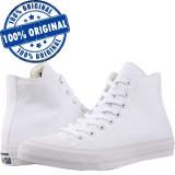 Pantofi sport Converse Chuck Taylor All Star II Hi pentru barbati - tenisi panza, 39, 43, 44, Alb, Textil